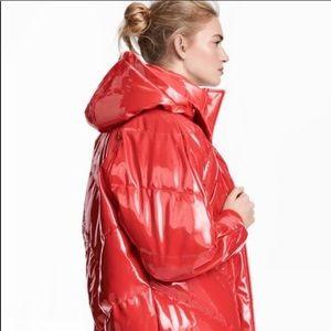 Make an offer! NWT! H&M Red Puffer Jacket